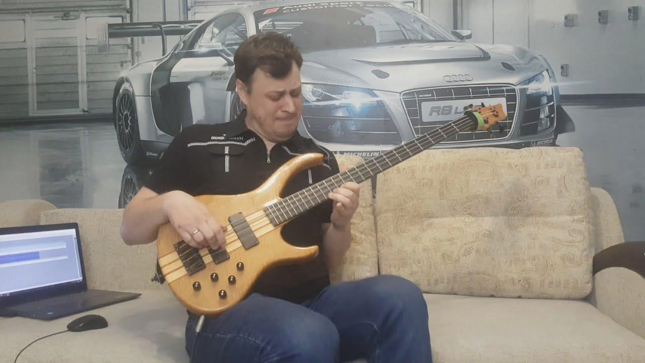 НЕпростое соло на Бас-гитаре
