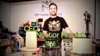 AJP Custom Drums promo Video #2 - Medium 2.m4v