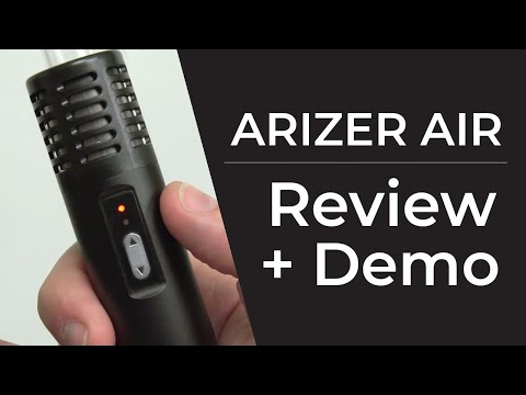 Arizer Air Vaporizer Review & Demo by Planet of the Vapes