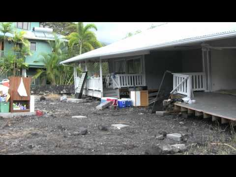 2011 Tsunami Damage in Kona, Hawaii