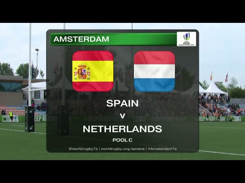 Spain vs Netherlands - Rugby Women´s Sevens World Series Amsterdam 2015