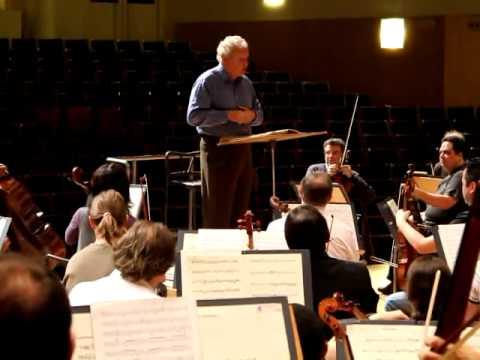 Osesp Turnê Europa 2010 - Discurso de agradecimento maestro Tortelier em Múrcia.avi