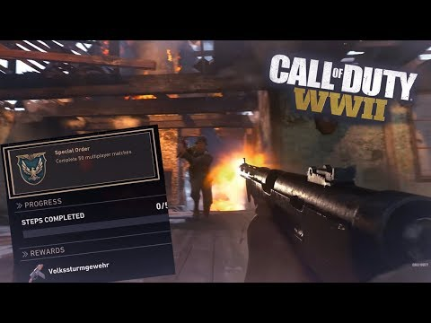 """NEW WEAPONS! """"The Resistance"""" Update COD WW2 LEVEL 1000 Multiplayer Gameplay Live Stream"""