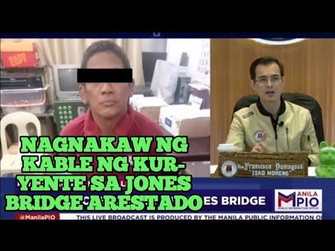 Download NAGNAKAW NG KABLE NG KURYENTE SA JONES BRIDGE ARESTADO