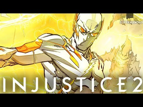 """THE FASTEST MAN TO EVER LIVE - Injustice 2 """"The Flash"""" Gameplay"""