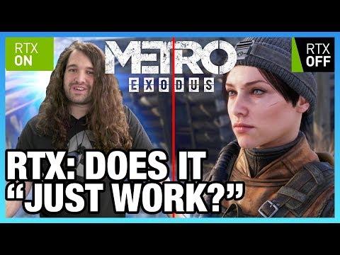 RTX Global Illumination On vs. Off: Metro Exodus Technical Analysis