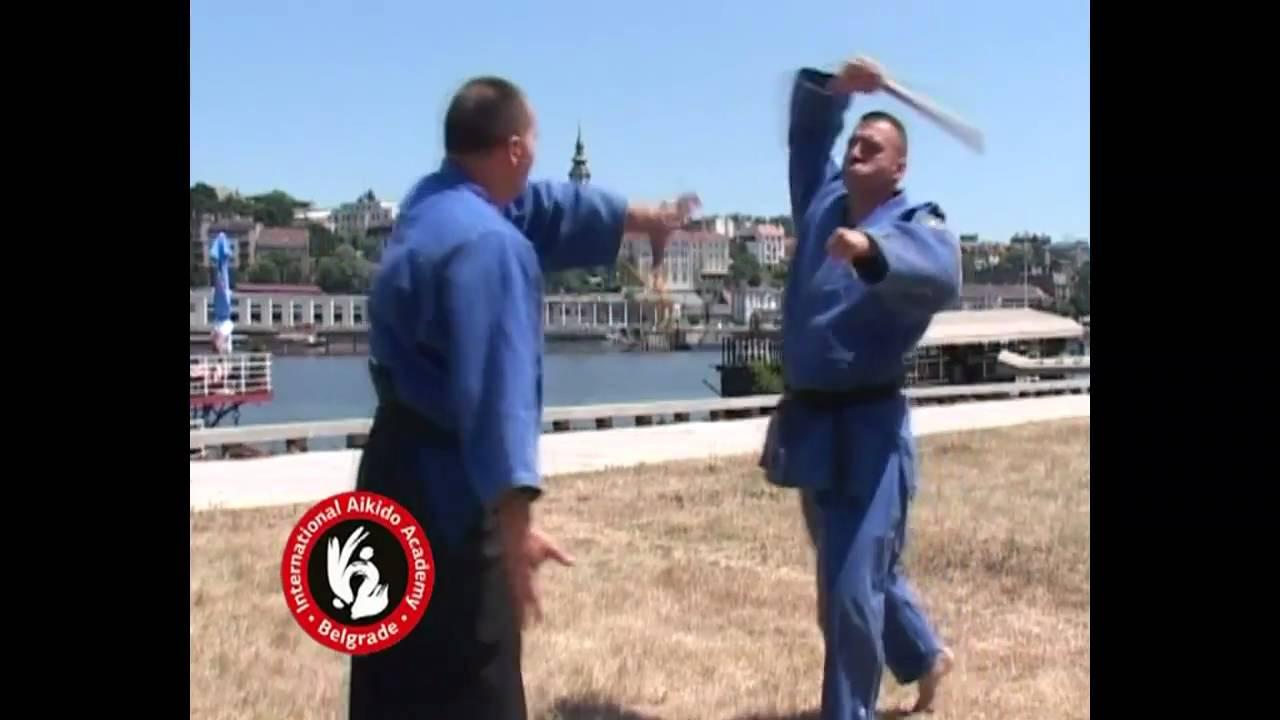 Aikido techniques by Bratislav Stajic: Shomenuchi kokyu nage