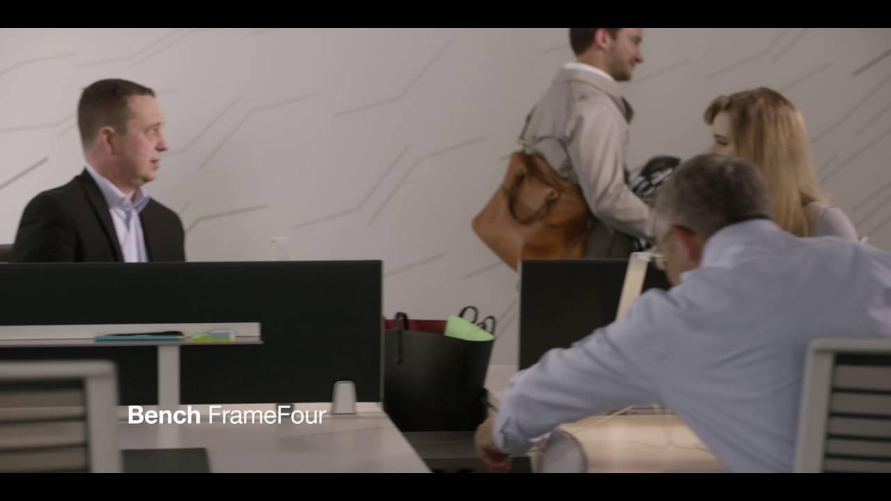 Bureau FrameFour - Pour tous les modes de travail d'aujourd'hui