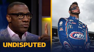 NASCAR & Bubba acted appropriately after finding noose in garage — Shannon Sharpe | UNDISPUTED