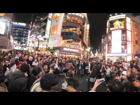 ハロウィン2016渋谷の様子を4Kパノラマ動画で取材(ガジェット通信VR動画)