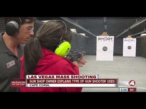 Fully automatic gun demonstration