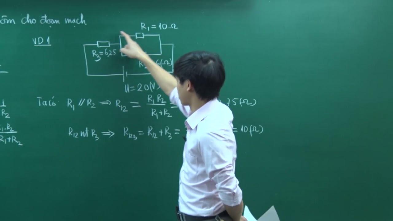 Định luật Ôm cho đoạn mạch – Thầy Nguyễn Ngọc Hải – Nền tảng 2019