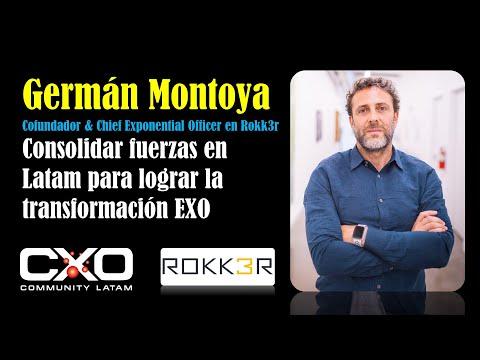 #Entrevista a Germán Montoya (Rokk3r): Consolidar fuerzas en Latam para lograr transformación #exponencial