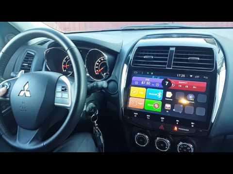 Mitsubishi ASX (2015-16) года без навигации. Установка Android. (Xanavi.ru)