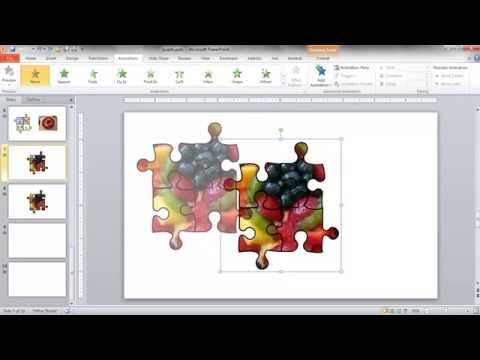 Create a JigSaw Puzzle Image in PowerPoint