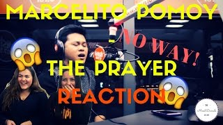 Marcelito Pomoy sings 'The Prayer' (Celine Dion/Andrea Bocelli) | REACTION | THE MIXED DAMSELS
