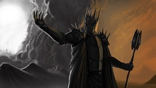 Repeat youtube video Sauron in Skyrim??
