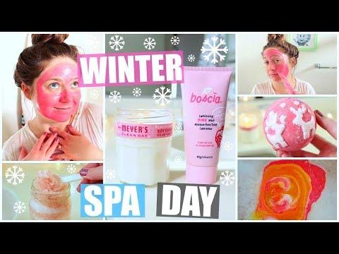 DIY Winter Spa Day! HolidAMY | Day 7