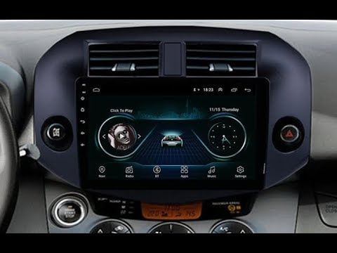 Штатная магнитола Toyota Vanguard, RAV4 (2005-2013) Android TA078