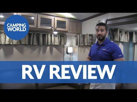2017 Shasta Phoenix 35BL | Bonus Room & Loft | Fifth Wheel | Bark - RV Review