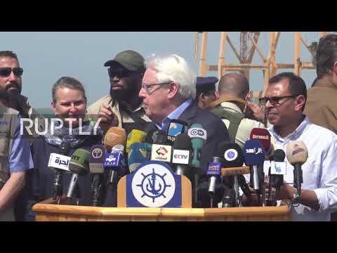 Yemen: UN Envoy Griffiths calls for halt to fighting in Hodeidah