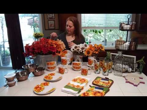 Dollar Tree Haul - New items - More Dishware, Flowers and Copper, Oh My!