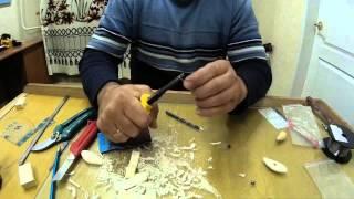 Изготовление воблера из пенопласта часть 1(первая часть видео об изготовлении вобелра., 2014-12-24T14:07:17.000Z)