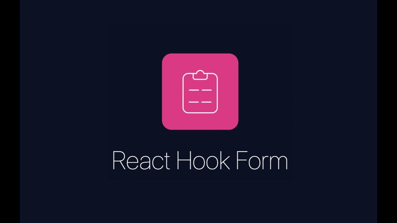 React Hook Form - custom hook for forms validation