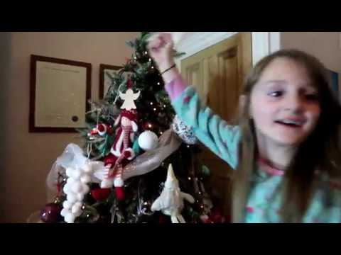 VLOGMAS DAY 1 | DECORATING THE CHRISTMAS TREE