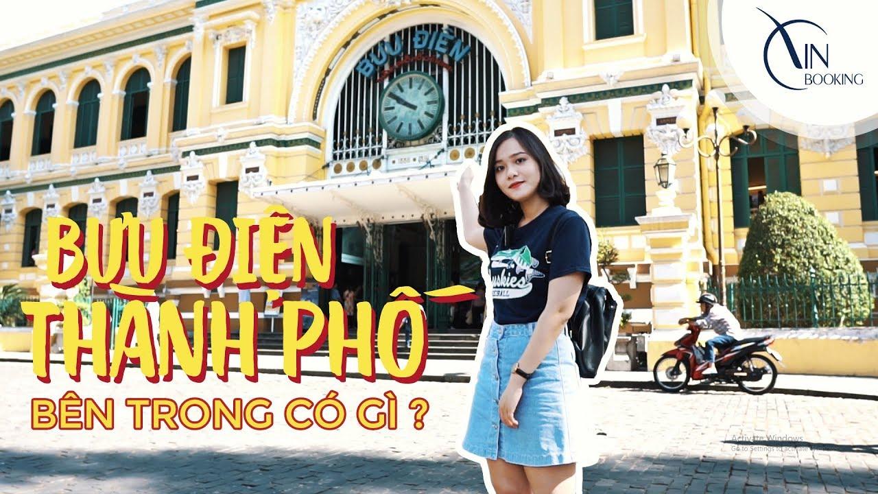 Vietnam Booking |  Du lịch Sài Gòn – Review Bưu Điện TPHCM bên trong có gì ????
