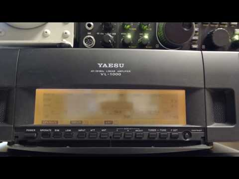 Yaesu VL-1000 Solid State HF/50MHz Amplifier / W7CT Sell / Auction Video