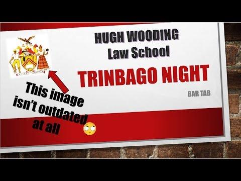 "Trini Night ""Bar Tab"" Video at the Sir Hugh Wooding Law School"