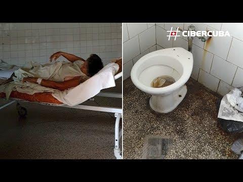 Así nos operan en Cuba: sábanas manchadas de sangre, cubículos llenos de telarañas y baños sucios
