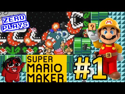 WHY WOULD YOU DO THIS?!? | Super Mario Maker Part 1