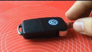TUTORIAL: cum se schimba bateria la cheia briceag VW, Skoda, Audi, simplu si rapid