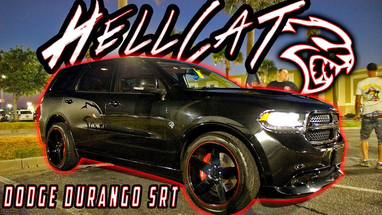 Dodge Durango Hellcat >> First In The World Hellcat Dodge Durango Srt Supercharged Hemi