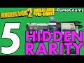 Top 5 Hidden Weapon and Gear Rarity in Borderlands 2 and The Pre-Sequel! #PumaCounts