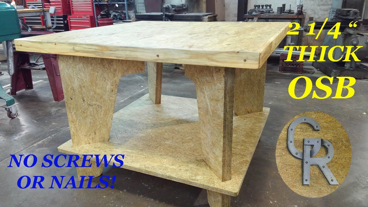 Woodworking Work Table, 2 1/4