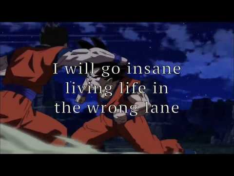 Blacklite District - Cold as Ice Lyrics ☆ Dragon Ball Super ☆ Anime Music Video ☆