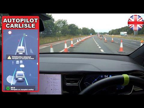 Tesla Autopilot avoids traffic cones, recognizes makeshift lane with no confirmation