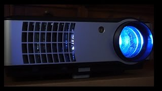 LED Multimedia Digital Projector RD806 Review