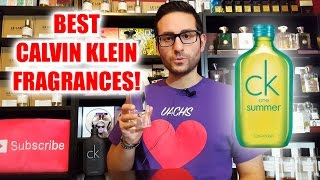 Top 5 Best Calvin Klein Fragrances / Colognes!