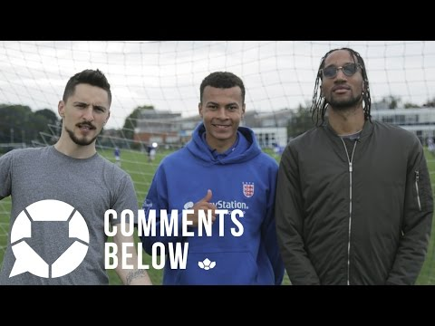 Dele Alli on Gerrard, Penalties & his England debut | Comments Below Extra