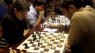 chess blitz GM Svidler - WGM Kashlinskaya