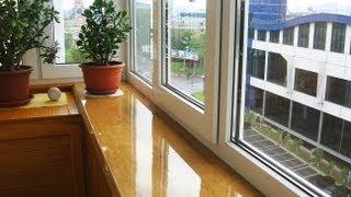 видео Остекление балконов алюминиевым профилем в Барнауле. Остекление балконов и лоджий цены.