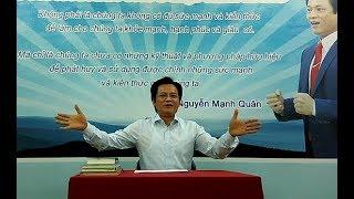Chuyên gia Tâm lý và thôi miên trị liệu Nguyễn Mạnh Quân nói về bệnh trầm cảm