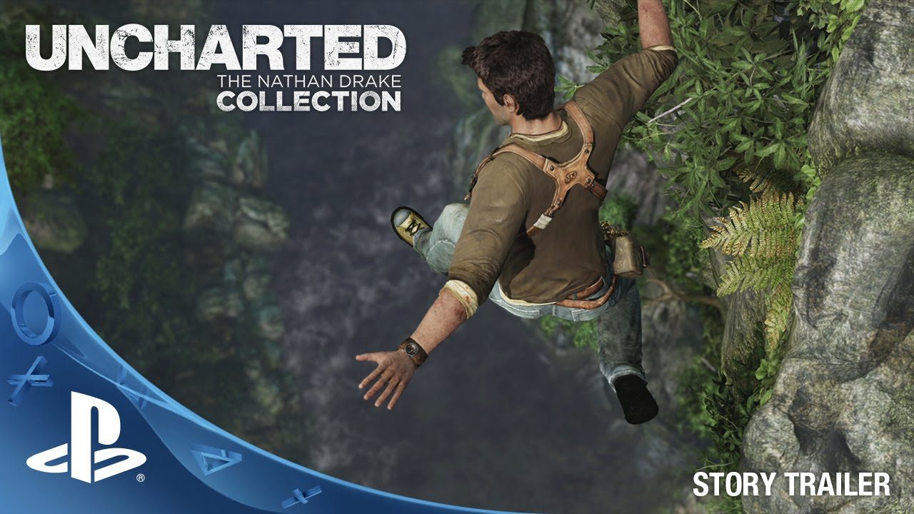 UNCHARTED: The Nathan Drake Collection (10/9/2015) - Story Trailer ...