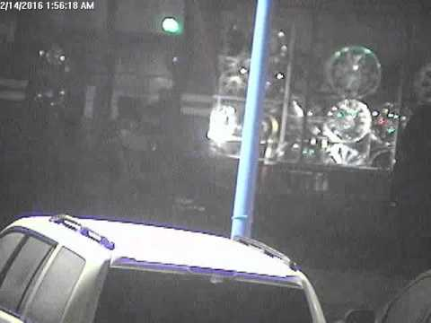 Attempted Burglary Sothern California Dealership