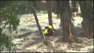 A little boy Rescue horse from Flash Flood [Emotional Video]