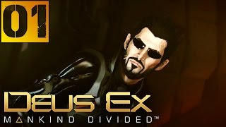 "Deus Ex Mankind Divided Прохождение Часть 1 (Настоящий Deus Ex, Призрак) ""Дубаи"""